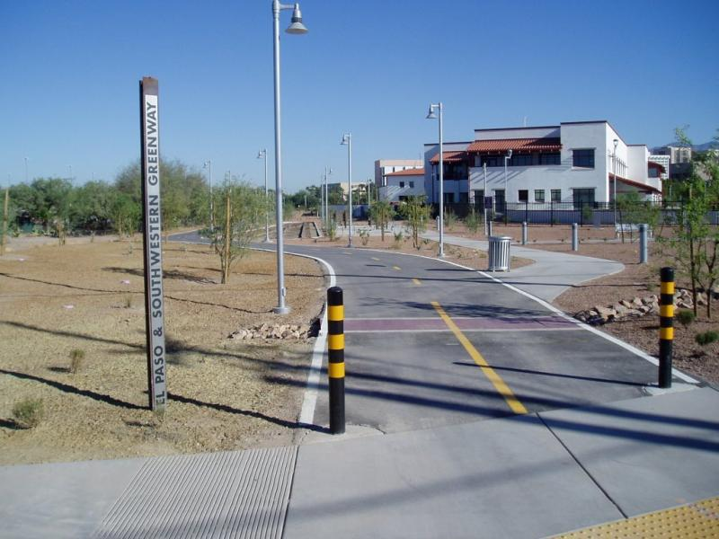 El paso and southwestern greenway official website of