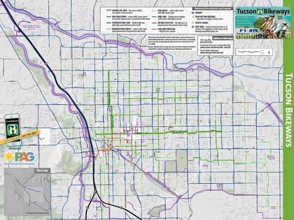 Bike maps official website of the city of tucson a collaboration of the city of tucson and pima association of governments this pocket sized map shows signalized crossing locations traffic signals publicscrutiny Gallery