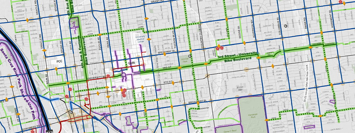 Bike Maps | Official website of the City of Tucson