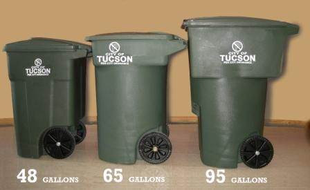 Right Size Your Can Official website of the City of Tucson