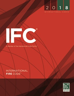 red book cover of International Fire Code