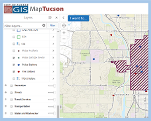 Map Tucson cover page