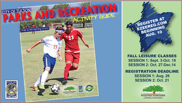 Tucson Parks And Rec Summer 2020.Fall 2019 Spring 2020 Activity Guide Official Website Of