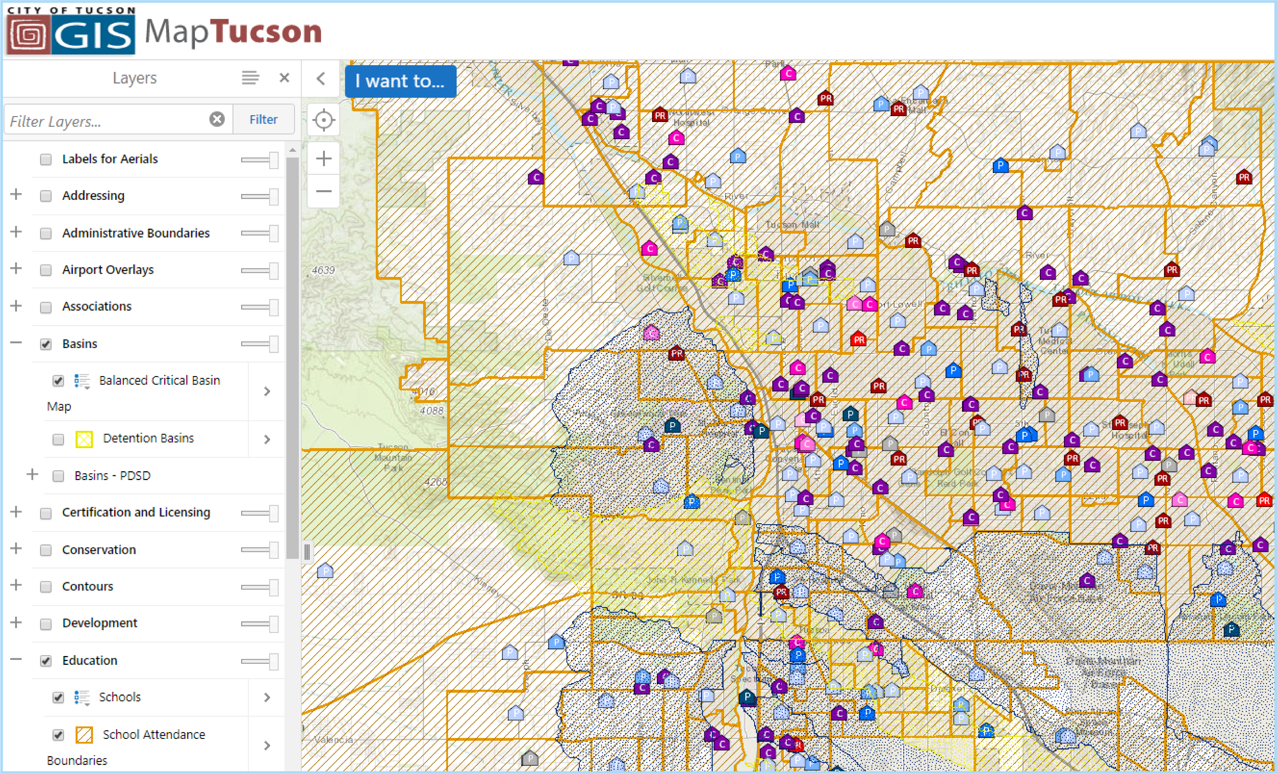 graphic relating to Printable Map of Tucson Az named Geographic Content Plans Products and services Formal web