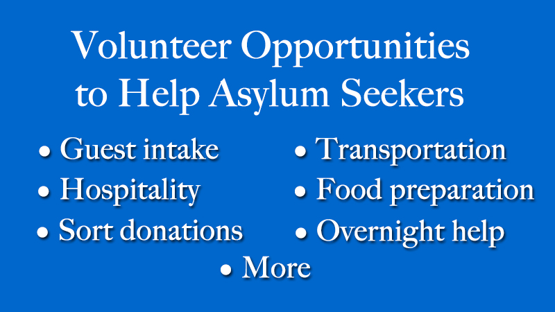 Opportunities For Tucson Families To Ist Asylum Seekers