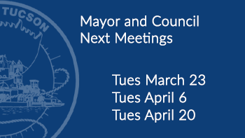Next Mayor and council meetings Tue March 23, Tues April 6, Tue April 13
