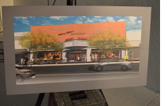 Artist's rendering of Johnny Gibson's Downtown Market