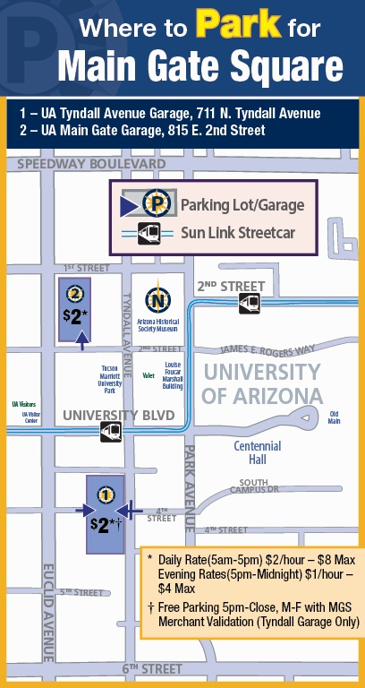 Park Tucson, the City of Tucson's Parking Manager | Official