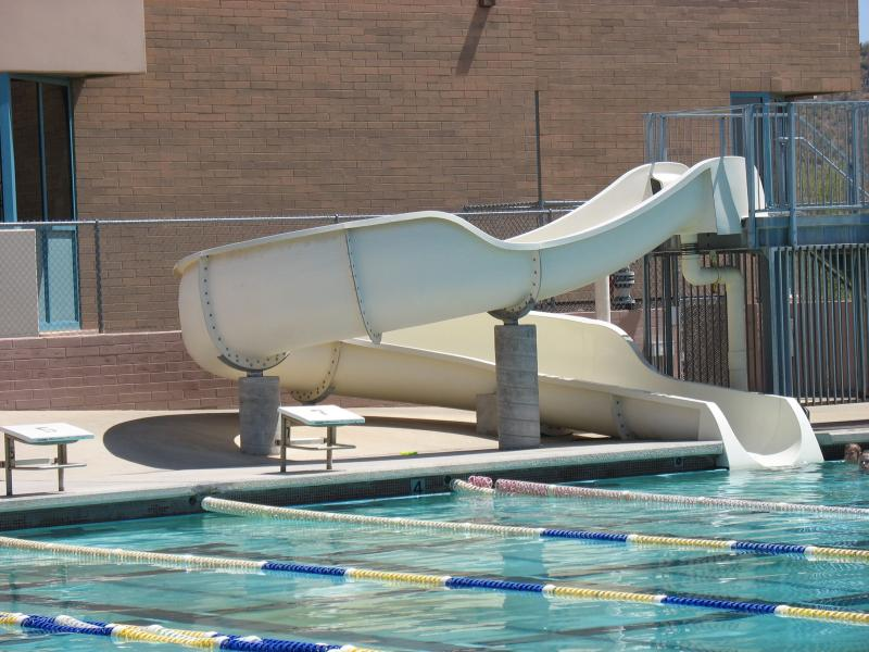 Fred Archer pool slide