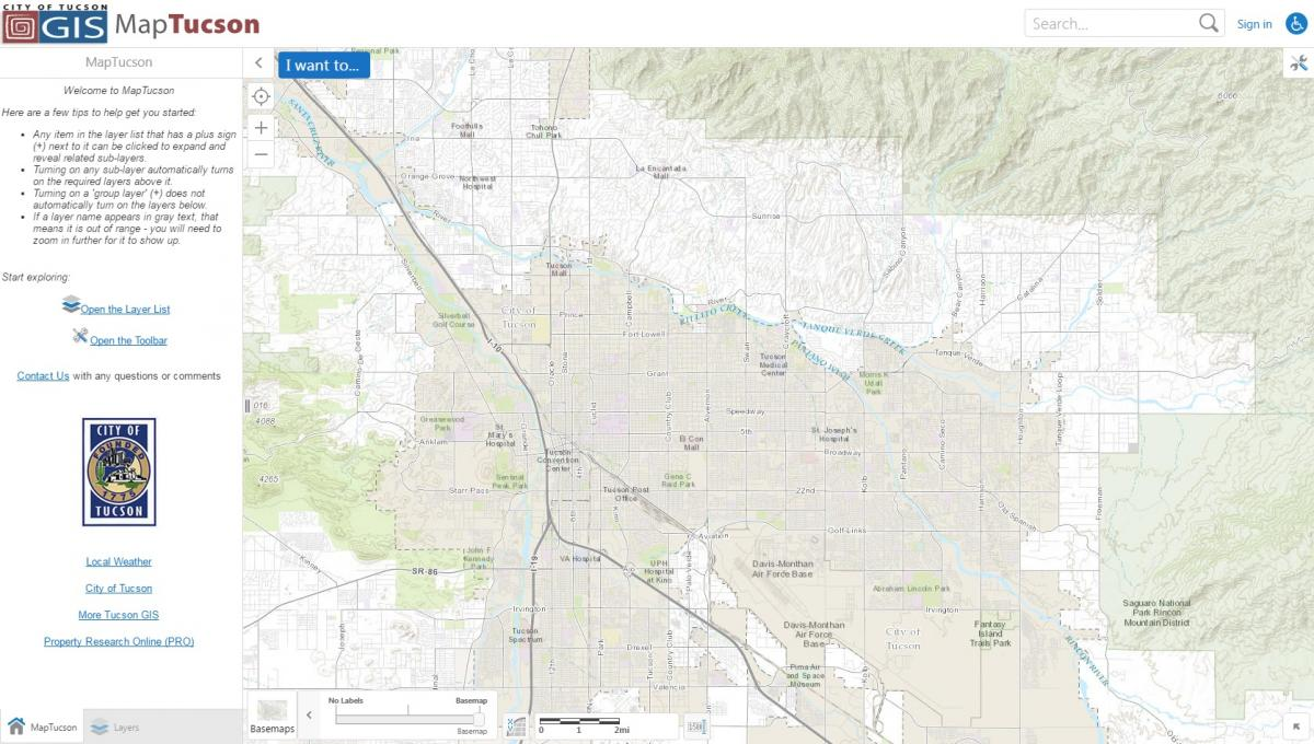 map of tucson tucson location on the us map tucson location on the