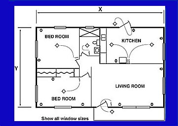 Floor plan example official website of the city of tucson for Electrical as built drawings sample