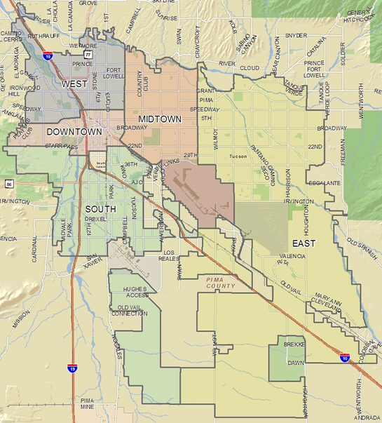 s | Official website of the City of Tucson Campbell Crime Map on