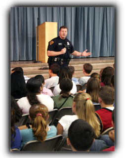 Officer instructs teens
