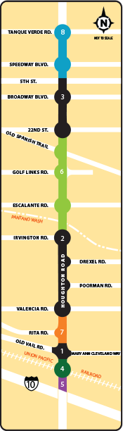 Houghton Road Map