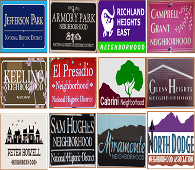 Neighborhood Identification Signs | Official website of the