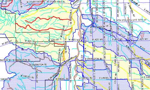 interactive riparian habitat maps official website of the city