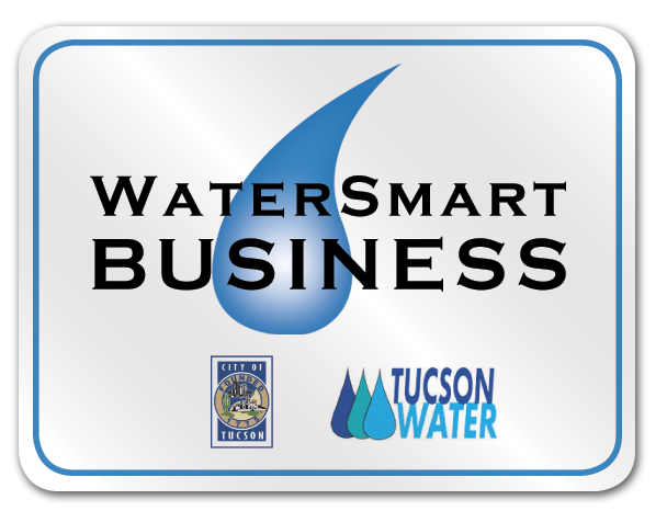 Participating WaterSmart Business metal sign