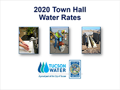 Town Hall presentation on proposed water rates